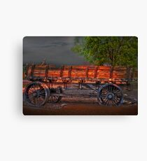 Wagons East Canvas Print