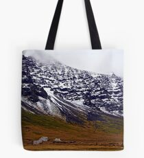 The mountains of Hali Tote Bag