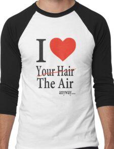Dr. Horrible Freeze Ray love your hair Men's Baseball ¾ T-Shirt