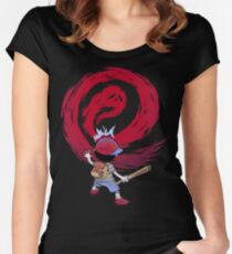 Cosmic Destroyer Women's Fitted Scoop T-Shirt