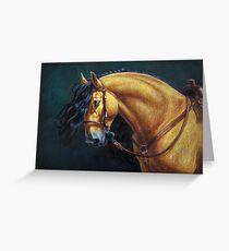 Warlander Stallion Greeting Card