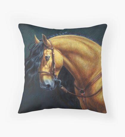 Warlander Stallion Throw Pillow