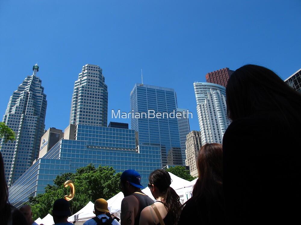 Skyline of Toronto by MarianBendeth