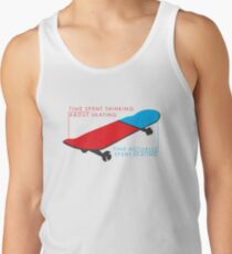 Skateboard infographic Tank Top