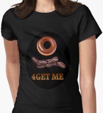 ✾◕‿◕✾DOUGHNUT (DOUGHKNOT) FORGET ME TEE SHIRT✾◕‿◕✾ Womens Fitted T-Shirt