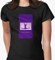 "The Gymnast ""Got Gravity?"" ~ Purple Version T-Shirt"