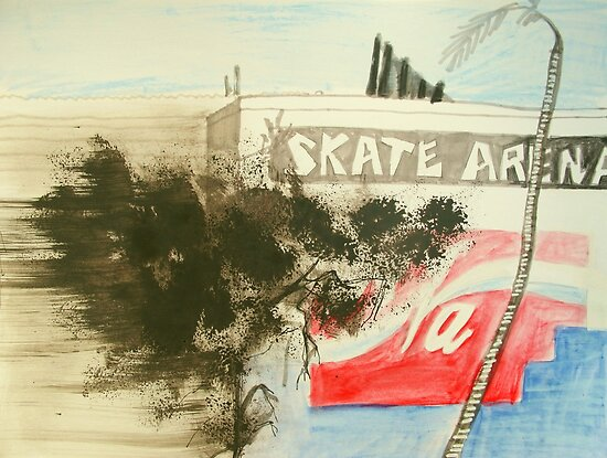 skate arena red hill by donna malone