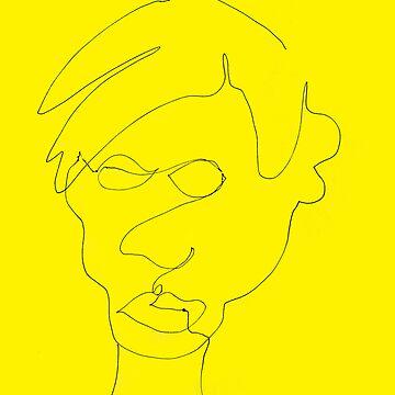 Warhol, A Portrait by imaginedxandrew