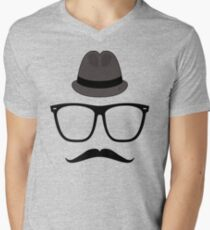 Überhipster Mens V-Neck T-Shirt