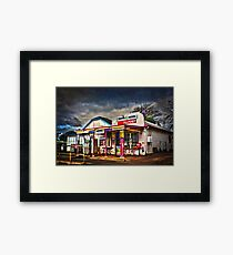 The Old General Store Framed Print