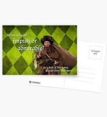 Belsnickel - Dwight at Christmas Postcards