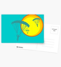 sun sky dive Postcards