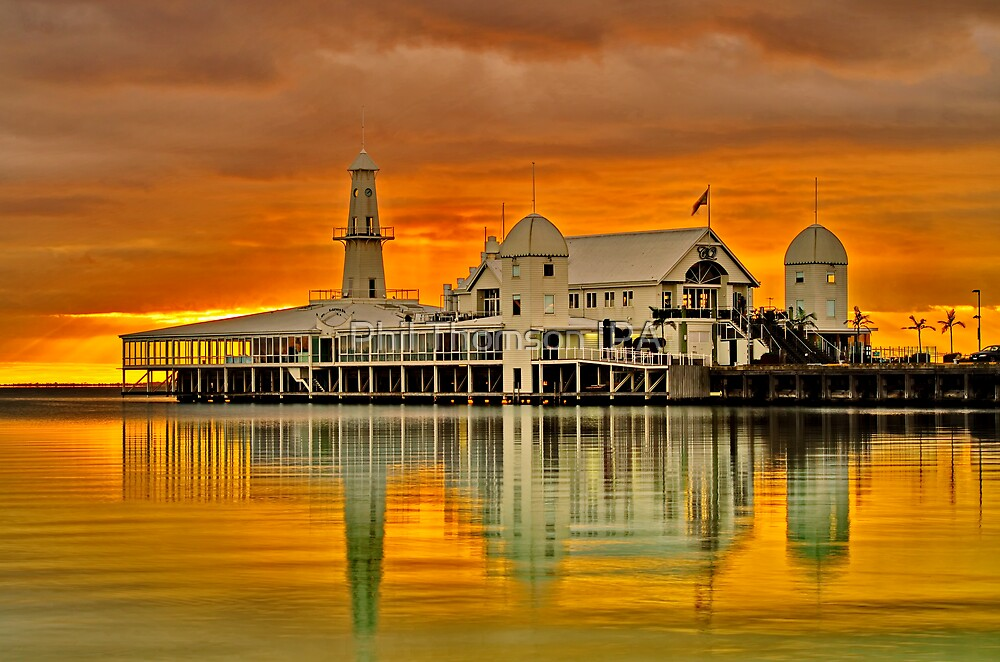 """Golden Dawn At The Pier"" by Phil Thomson IPA"