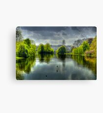 Buckingham Palace and St James Park Canvas Print