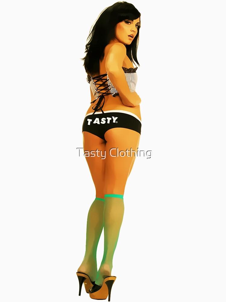 Tasty® Brand Lingerie Pinup Girl by Deadscan