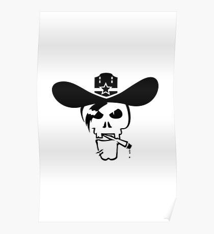Skull of the Sheriff VRS2 Poster
