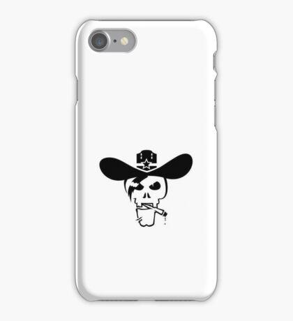Skull of the Sheriff VRS2 iPhone Case/Skin