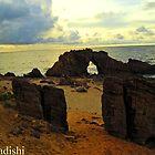 The Drilled Rock in Jericoacoara, Brazil by ibadishi