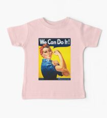 Vintage poster - Rosie the Riveter Kids Clothes