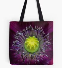This is how a poppy flirts Tote Bag