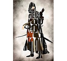 Aragorn -  Lord of the Rings Photographic Print