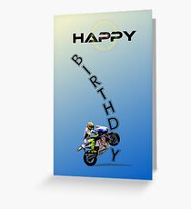 HAPPY BIRTHDAY. Greeting Card