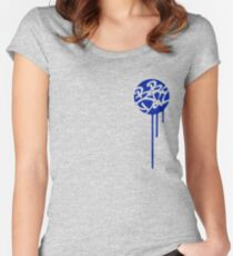 """Bob Dope """"dripping motif"""" Women's Fitted Scoop T-Shirt"""