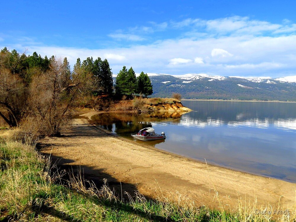 Payette Lake...Cascade Idaho......great fishing by Diane Arndt