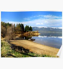 Payette Lake...Cascade Idaho......great fishing Poster