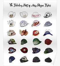 Miss Fisher's Fabulous Hats Poster
