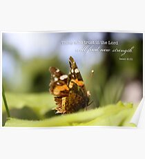 Butterfly – Trust – 2:3 Poster