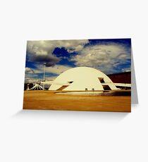 The National Museum in Brasilia, Brazil Greeting Card