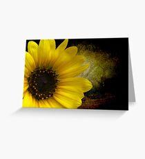 Texas Common Sunflower Greeting Card