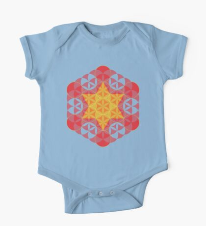 Flower of life 03 Kids Clothes