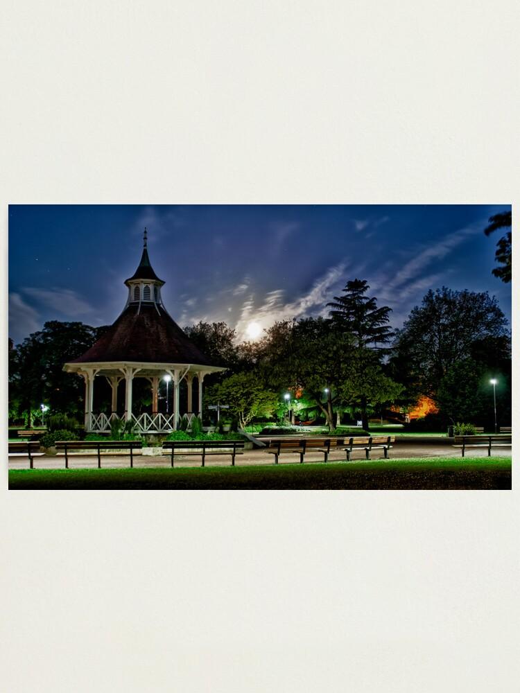 Alternate view of Supermoon Over Chapelfield Gardens Photographic Print