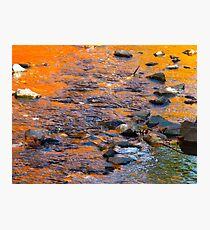 Burning waters Photographic Print