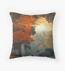 Mt. Auburn Cemetery Throw Pillow