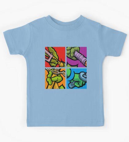 Lichtenstein Pop Martial Art Quelonians Full Set Kids Clothes