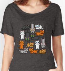 Super Kitten Pile (Just Cats) Women's Relaxed Fit T-Shirt
