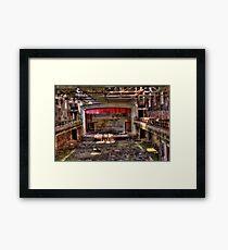 Asylum Theater Framed Print