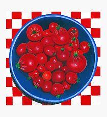 Bowl of Cherries (tomato) Photographic Print