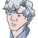 Unicorn Sherlock (White) by Dralore