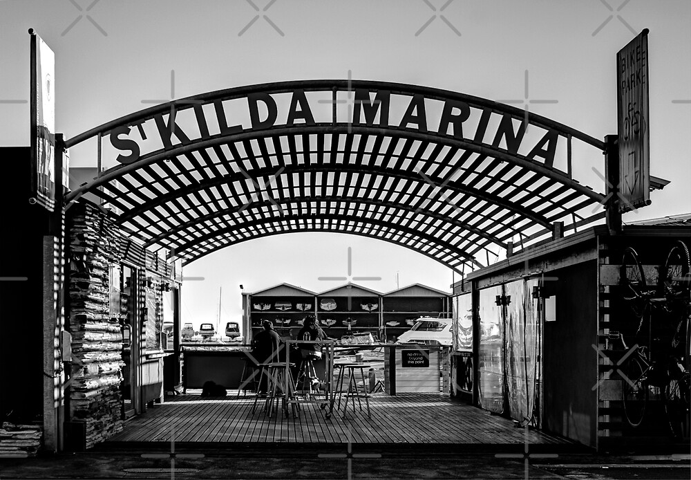 St. Kilda Marina in June by JHP Unique and Beautiful Images