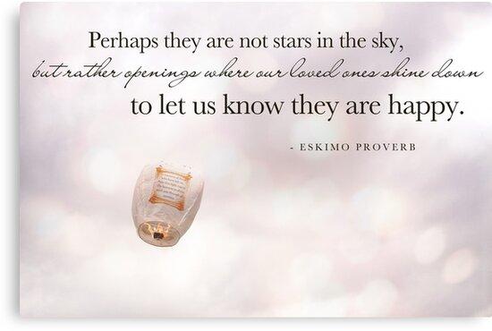 Eskimo Proverb by Franchesca Cox