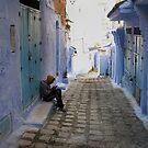 Alone in Blue by Bruce  Watson