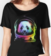 Astronaut Panda Women's Relaxed Fit T-Shirt
