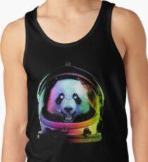Astronaut Panda Tank Top