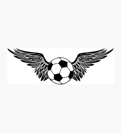 futbol wings Photographic Print