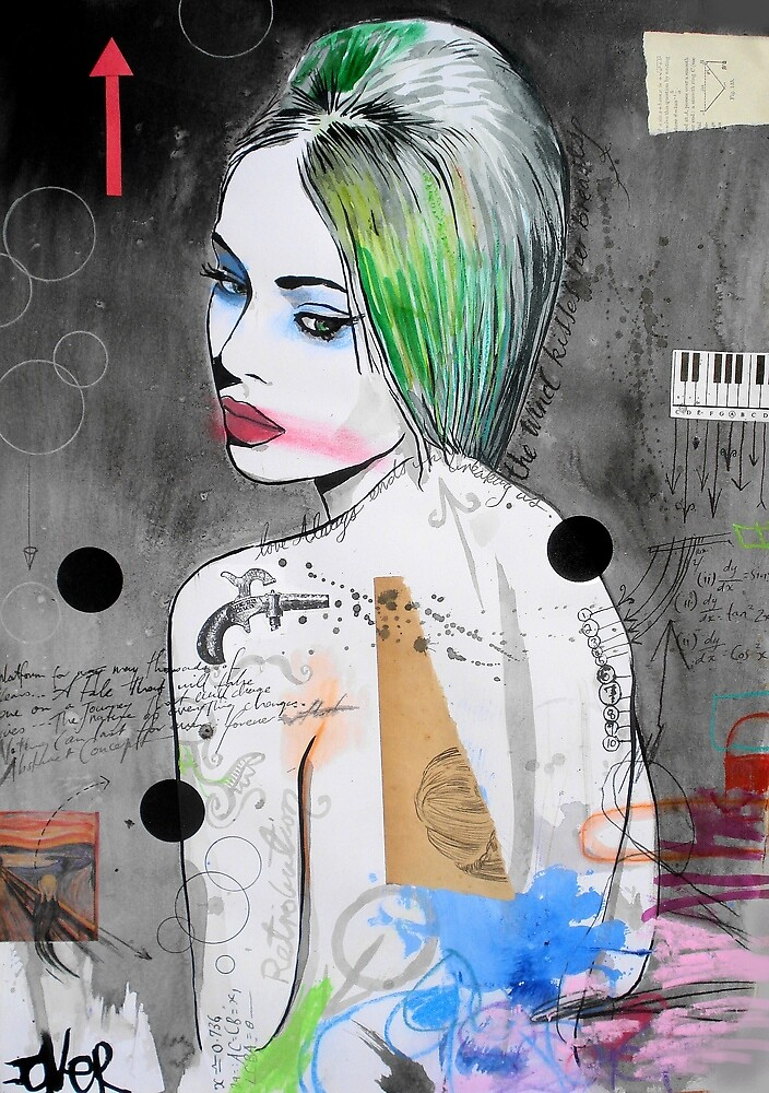 retributions muse by Loui  Jover