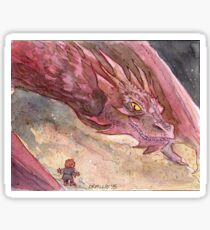The Temptation of Smaug Sticker
